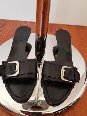 Vivace Mule noir cuir