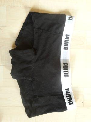 Panty Puma schwarz weiß
