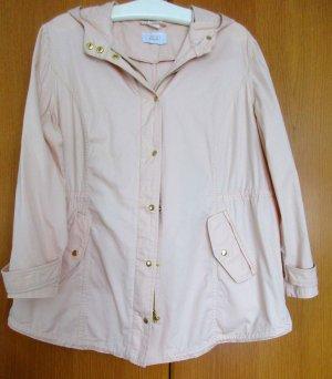 PAOLA ! Damensommerjacke Farbe Puder/Rosé Gr. 50 Baumwolle