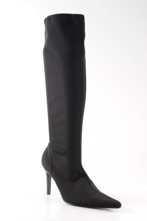 Paoli Absatz Stiefel schwarz Elegant