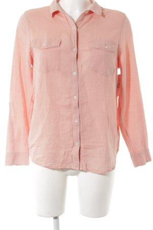 Papaya Langarm-Bluse apricot sportlicher Stil