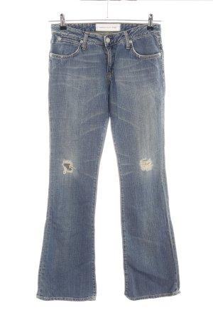 paper denim&cloth Jeansschlaghose blau Casual-Look