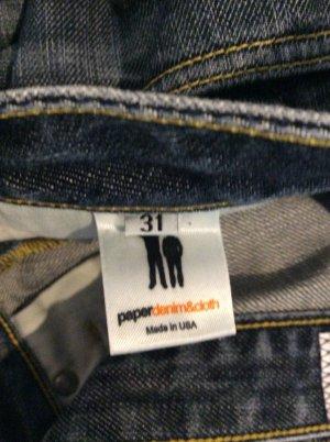 Paper Denim Jeans- Bootcut in dunkelblau