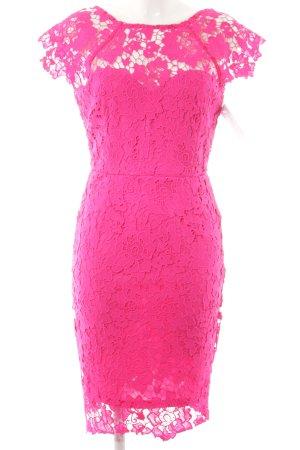 Paper Dolls Vestido de encaje rosa elegante