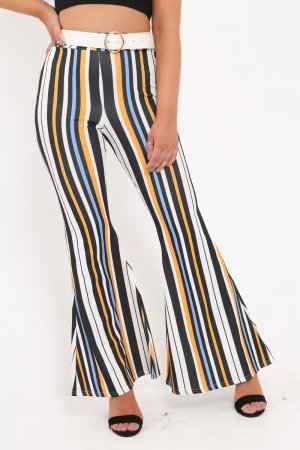 Baggy Pants multicolored polyester