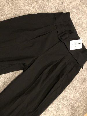 Bershka Suit Trouser black