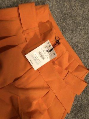 Bershka Suit Trouser neon orange-orange