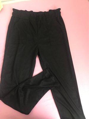 100% Fashion Pantalon en jersey noir