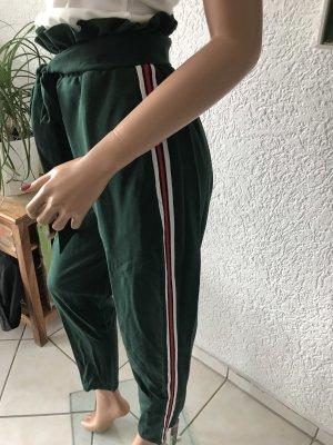 Pantalón de cintura alta multicolor