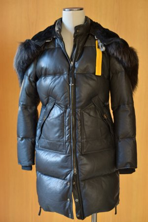 parajumpers daunenmantel long bear mit fellkragen