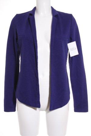 Paramita Jerseyblazer blau meliert Casual-Look