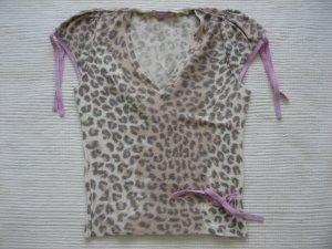 Paraphrase Short Sleeved Blouse camel-pink
