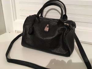 Bowling Bag black-silver-colored