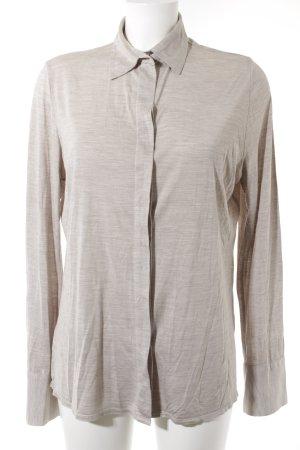 Parenti's Hemd-Bluse hellbeige-wollweiß meliert Casual-Look