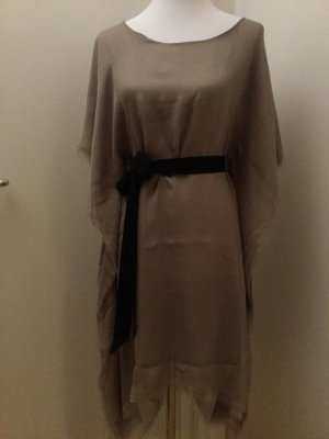 Parenti's Seiden-Tunika-Kleid taupefarben unisize
