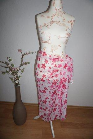Pareo, großes Tuch mit Blumenmuster