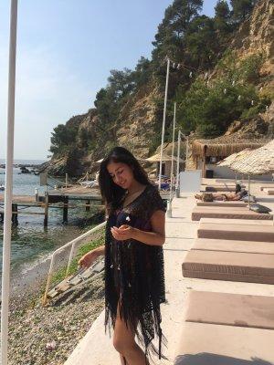 Capo da spiaggia nero