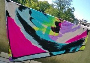 Triumph Beach Towel multicolored polyamide