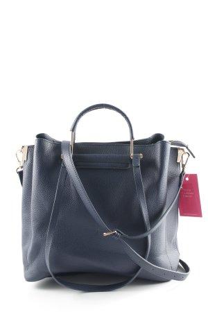 Parfois Handtasche goldfarben-dunkelblau Business-Look