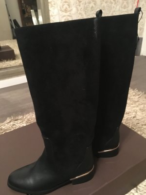 Parfois Riding Boots black-gold-colored