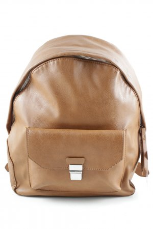 Parfois School Backpack light brown casual look
