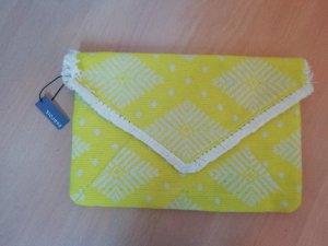 Parfois Tasche Clutch Briefcase Envelope Aztek Hippie Folklore Neon
