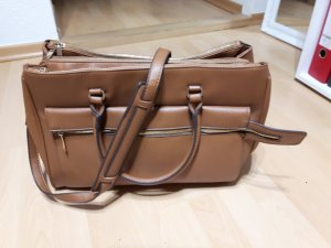 Parfois Carry Bag cognac-coloured