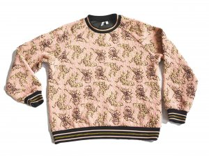Paris Atelier & Other Stories Cheetah Tiger Sweater