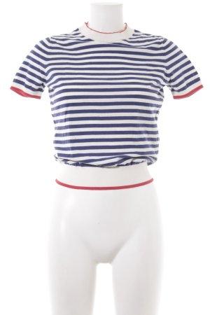 Paris Atelier Gestreept shirt horizontale strepen straat-mode uitstraling