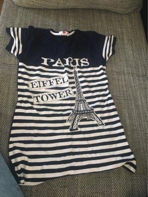 Absolu Paris T-Shirt white-dark blue