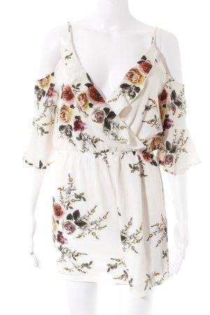 Parisian Jumpsuit florales Muster Romantik-Look