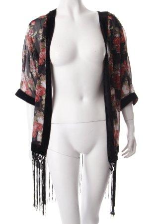 Parisian Kimono Blumenmuster Boho-Look