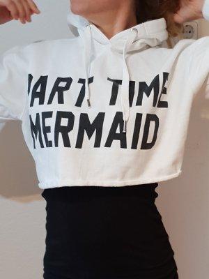 Parisian 'Part Time Mermaid' Cropped Hoodie