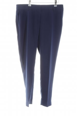 Park Bravo Bundfaltenhose blau Business-Look