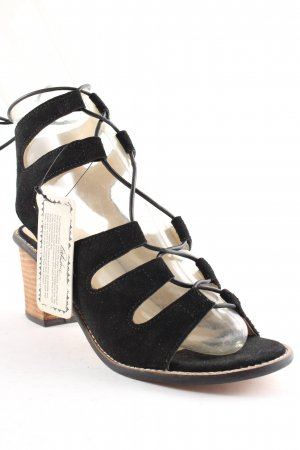 Park Lane Strapped High-Heeled Sandals multicolored casual look