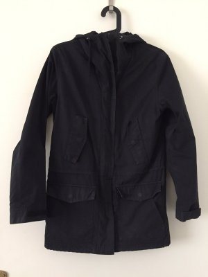 Aygill's Parka black cotton