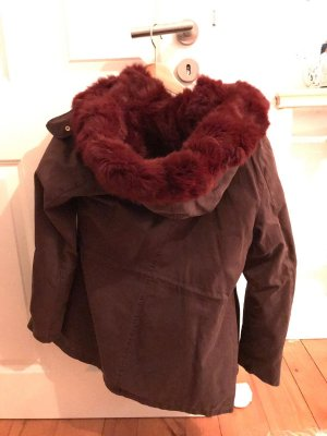 Witty Knitters Parka multicolored fur