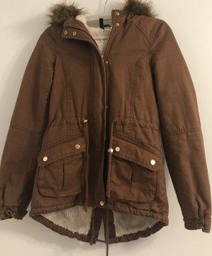 H&M Parka marrón