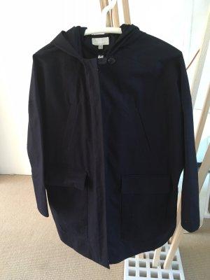 Hess Natur Cappotto blu-blu scuro Cotone
