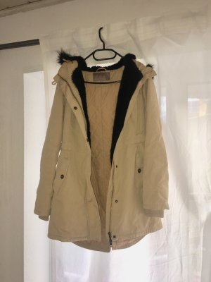 Parka, beige, Trenchcoat Style