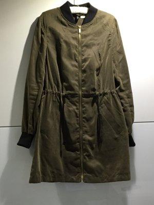 Parka/dünner Mantel khaki Gr.36 H&M