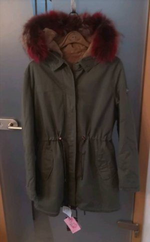 Frieda & Freddies New York Parka olijfgroen