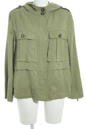 Parka grasgrün Military-Look
