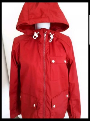H&M Parka rojo oscuro