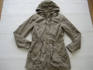 parka jacke khaki neu gr. s 36 colours of the world