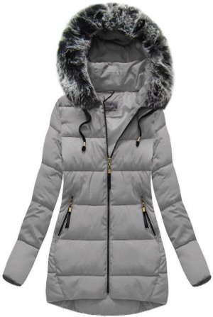 Oversized Jacket light grey-grey