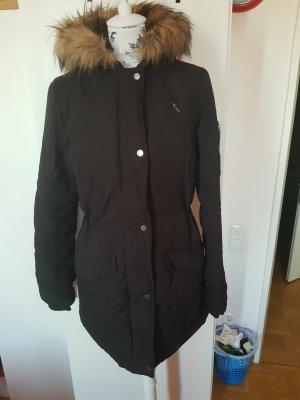 Parka Jacke mit Reißverschluss an der Schulter winterjacke Musthave