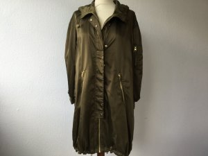 Parka Jacke von H&M in Gr. 34 oversize olivegrün Kapuze NEU