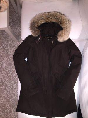 Parka,Jacke von Woolrich Größe S in dunkelbraun