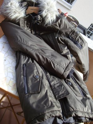 PARKA MANTEL JACKE Gr. S/M/L 36/38/40, OVERSIZE-STYLE Gekennzeichnet mit Grösse 40 NEU NEUPREIS 119,99€ oliv/khaki changierende Farben
